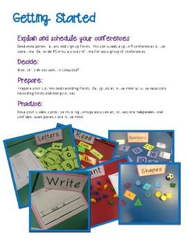 Student Led Conferences in Kindergarten