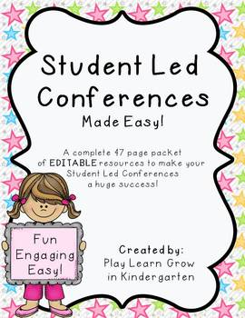 Student Led Conferences-made easy!