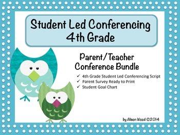 Student Led Conferencing Bundle - 4th Grade
