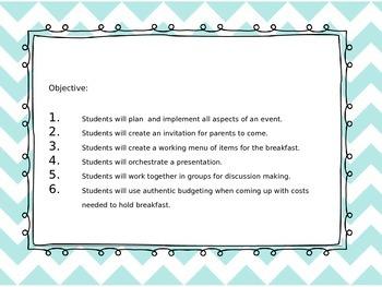 Student-Led Event Planning Unit!