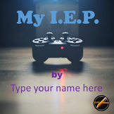 Student Led I.E.P. Meeting Editable Power Point/PDF: Video Game Theme