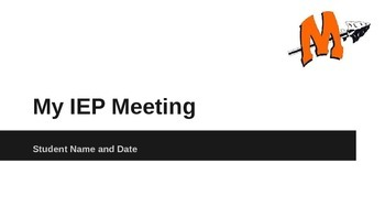 Student-Led IEP Meeting Power Point