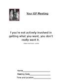 Student Led IEP Prep Sheet