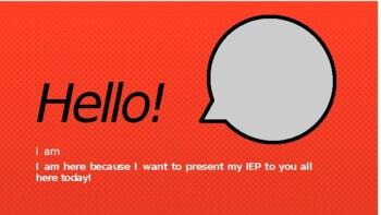 Student Led IEP Presentation #2