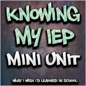 Student Led IEP Script (Print/Google)