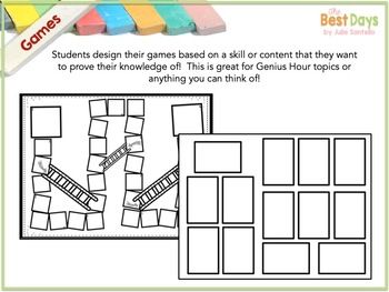 Student-Led Learning:  Build a Game