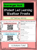 Weather Fronts Student Led Stations