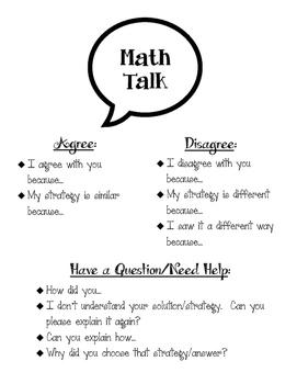 Student-Led Math Conversations