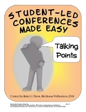 Student-Led Parent Conferences Made Easy, Talking Points