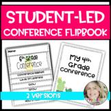Student Led Parent Teacher Conference Flipbook and Worksheets
