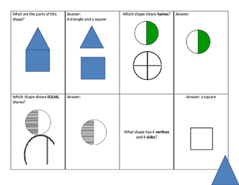 Student Led Quiz Game: Shapes