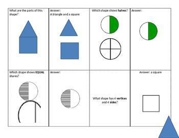 Student Led Quiz Game: Shapes