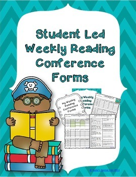 Student Led Reading Conference Forms