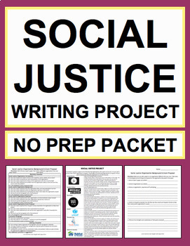 Social Justice Project: Student-Led Packet