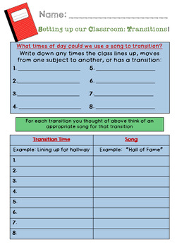 Student Led Transitions