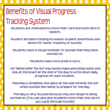 student led visual articulation progress tracker by kelly conover