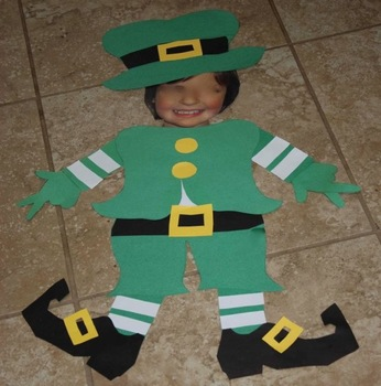 Student Leprechauns for St. Patricks Day