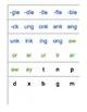 Recipe for Reading letter tiles