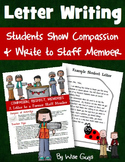 Student Letters of Appreciation to Staff Members for the Holidays!
