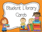 Student Library Cards
