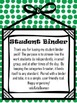 Student Literacy Binder Organization (color)