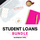 Student Loans and Financial Aid Unit Bundle (PPT, Activities, + Research Paper)