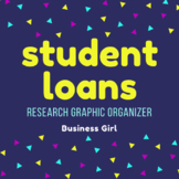 Student Loans Research Graphic Organizer