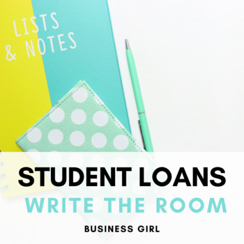 Student Loans and Financial Aid QR Code Scavenger Hunt