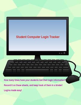 Student Login Tracker (Editable)