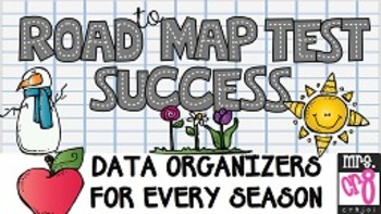 Student MAP Data Organizers for Every Season Road to MAP Test Success