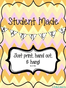 Student Made Banners!