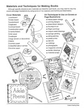 Student-Made Books: 10 Easy-to-make books for Publishing Students' Writing
