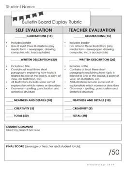 Student Made Bulletin Boards {Digital & PDF}