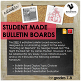 Student Made Bulletin Boards {Digital & PDF}
