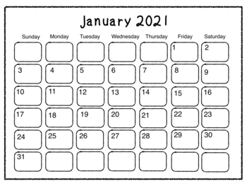 Student Made Calendar 2018