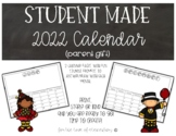 Student Made Calendar 2018 (parent gift)