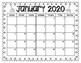 Student Made Calendar (2020) Parent Gift