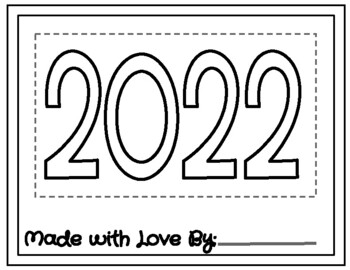 Student Made Calendar 2019 (Parent Gift)