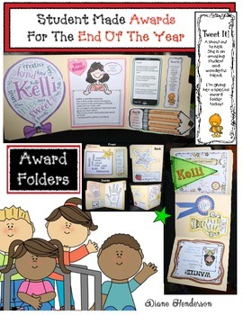 Student-Made End Of The Year Awards Packet
