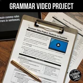 Grammar VIDEO Project: Students become Teachers!