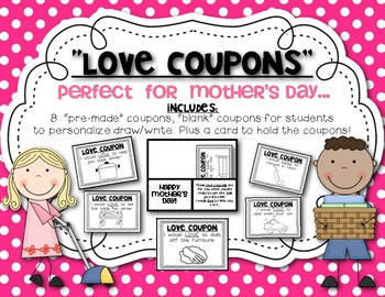 Mother's Day! Student LOVE coupon booklet