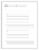 Student Made Quiz Template