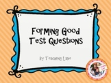 Student Made Test Questions
