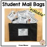 Student Mail Bags (Communication Folders) - *editable*