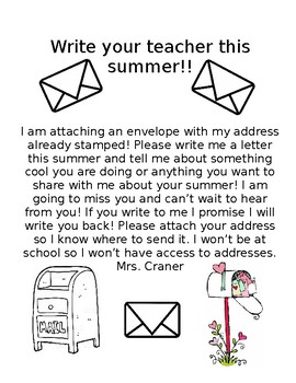 Student Mail Summer Time