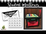 Student Mailbox Templates
