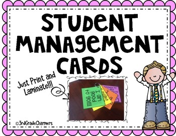 Student Management Cards