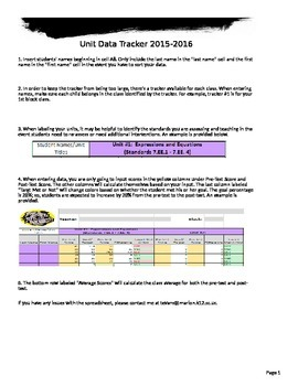 Student Mastery Tracker