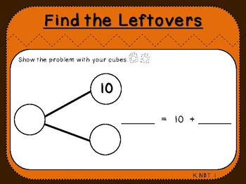 Student Mat-Find the Leftovers (Kindergarten-K.NBT.1)