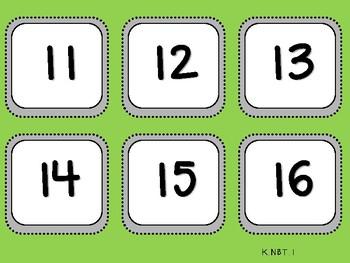 Student Mat-Ten Frame Leftovers (Kindergarten-K.NBT.1)
